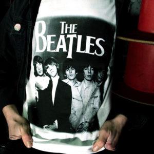 Beatles Stones - t-shirt